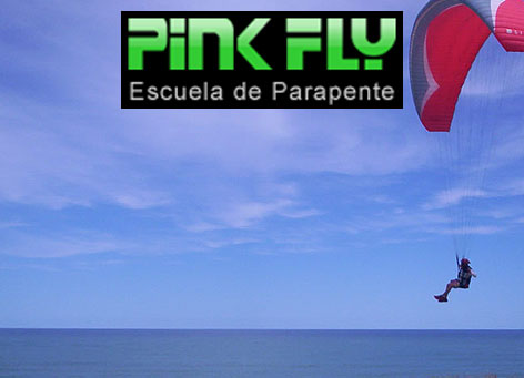 Pink Fly Parapente
